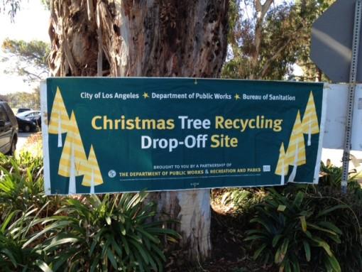 - Los Angeles Christmas Tree Recycling Program