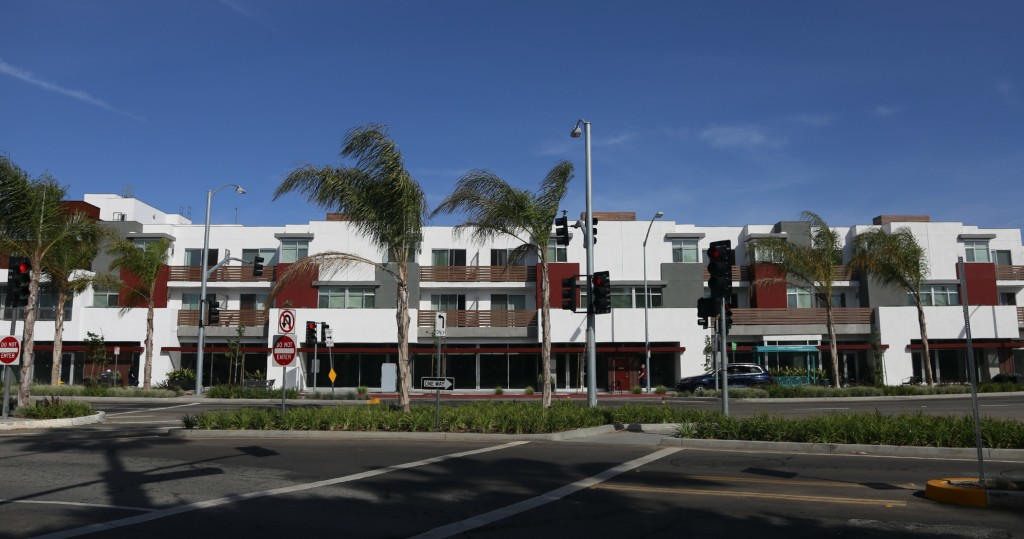 Mixed Use Complexes In West Los Angeles