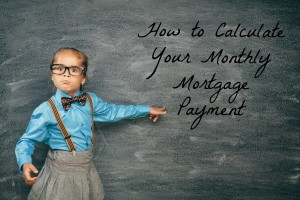 Calculating Your Monthly Mortgage Payments